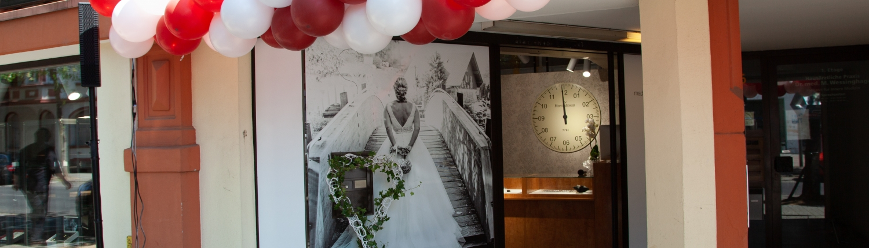 Eröffnung Traumring-Galerie, Eingang