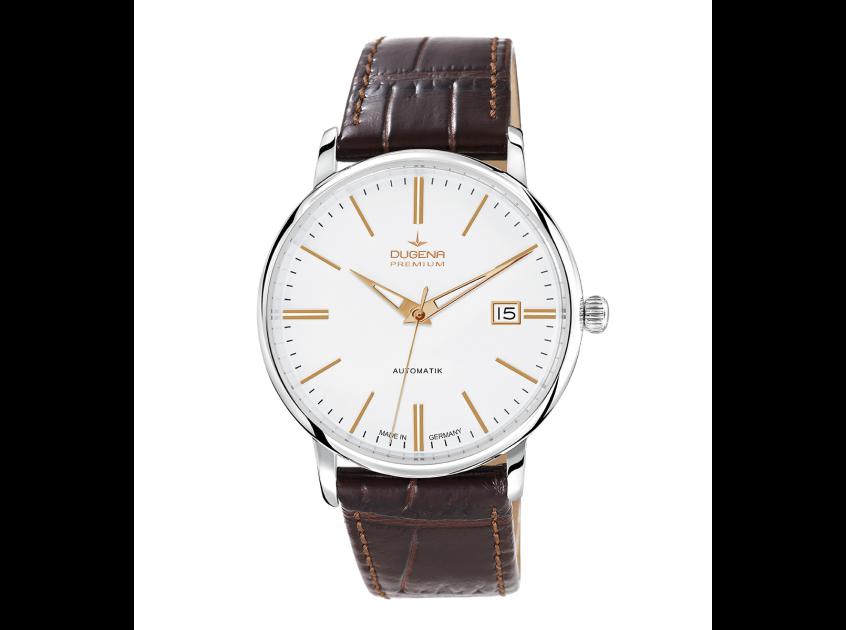 Uhr, Herrenarmbanduhr, Dugena, Festa Klassik