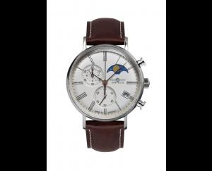 Zeppelin, Uhr, Herrenarmbanduhr, LZ120, Rome, ETA, Chrono, Mondphase