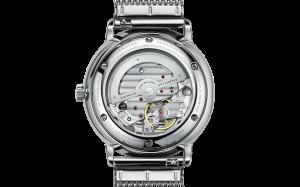 Uhr von Sternglas, Naos mit Sicht auf das Automatikwerk